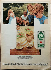 PG Tips Brooke Bond PG Tips-Tea You Can Really Taste Vintage Advertisement 1960s