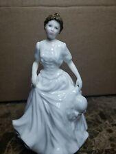 4233~Vtg 1997 Royal Doulton China Lady Figurine Hn 4096 Harmony Collectors Club*