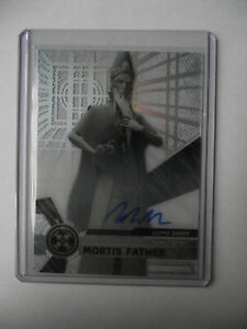 2017 Topps Star Wars High Tek - Mortis Father Autograph Trading Card