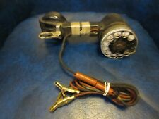 Rotary Telephone Lineman Test Phone Handset Western Electric Bell System Buttset