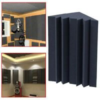 Soundproofing Foam Acoustic Bass Trap Corner Absorbers for Meeting Studio Room D