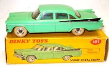 DINKY NO. 191 DODGE ROYAL SEDAN - RARE MINT BOXED