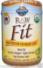 NEW GARDEN OF LIFE ORGANIC RAW FIT HIGH PROTEIN GLUTEN FREE VEGAN BODY HEALTHY
