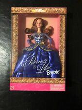 Portrait In Blue Barbie 19355 Nrfb Walmart Special Edition