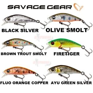 New Savage Gear 3D STICKLEBAIT TWICH Fishing Sinking Lure Ready to Fish Crazy