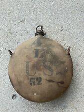 1878 U.S. ARMY CANTEEN 4th CAVALRY L TROOP SPANISH AMERICAN WAR INDIAN WARS ?