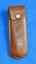 Military Leather HOLSTER CASE for pocket knife