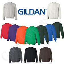 Gildan Heavy Blend Sweatshirt Plain Crewneck Long Sleeves Men Sweatshirt 18000