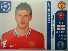 Panini 149 Michael Carrick Manchester United UEFA CL 2011/12
