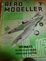 VINTAGE AIRCRAFT AEROMODELLER MAY 1940 ALL ORIGINAL FAIR CONDITION FOR YEAR