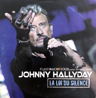 Johnny Hallyday ‎CD Single La Loi Du Silence - Europe (VG/EX+)