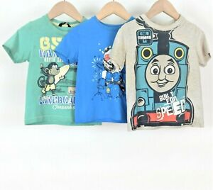 Boys T-Shirt Bundle Aged 2-3 Years George Thomas The Tank Engine Panda