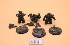 Warhammer 40k Space Marines Raven Guard Centurion Devastator Squad 663