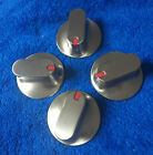 Samsung Stove  Stainless Silver Knobs DG94-00207B set of 4 photo