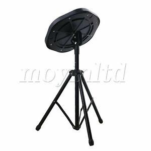 10Inch Simulation Plastic Dumb Drum Practice Pad Set Black 48 x 25cm H x Dia