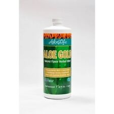Whole Leaf Aloe Vera Juice Concentrate-Aloe Gold Aloe Life 32 oz Liquid