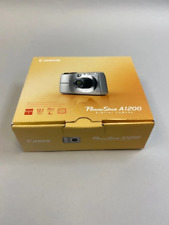 """Canon PowerShot A1200 Digital Camera 12.1MP 28mm 2.7""""LCD- NEW in open box"""