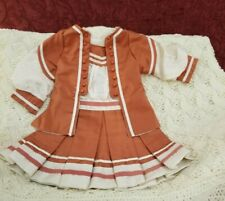 Vintage German/French Bebe Antique Doll Dress HANDMADE 2 Piece Clothing Was $98
