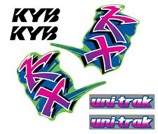 KAWASAKI KX 250 1991 Decal Graphic/kit déco/autocollants/stickers origine