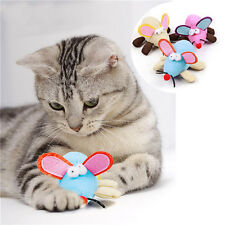 Pet Dog Cat Interactive Toy Big Ear Shakable Mouse Throwing Gnawing Fun Toy
