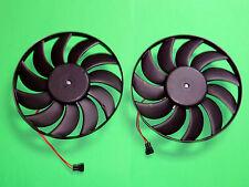 2x Kühlerlüfter Elektrolüfter Lüftermotor NEU VW T4 Transporter mit Klimaanlage