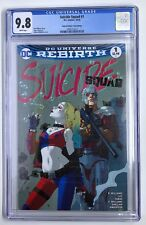 DC's Suicide Squad #1 Joshua Middleton Limited Edition Variant CGC 9.8