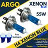 Ford Fiesta Mk4 02-08 Incl st H4 Ice Bombillas Xenon Azul para Focos Delanteros