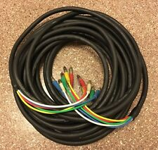 Canare V5-3C Jacketed RGBHV Video Cable RCA to RCA 55ft