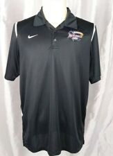 Nike Dri Fit Men's Size Large Northwest Arkansas Naturals Black Polo Shirt L
