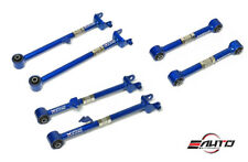 MEGAN 6pc Rear Traction Rod + Toe + Camber Control Arm for Honda Accord 08-16
