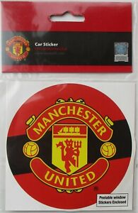 Manchester United MUFC Football Club Man Utd Official Product Window Sticker