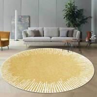 Floor Mat Carpet Non-slip Area Rug Cushion Kitchen Bathroom Doormat Gold Yellow