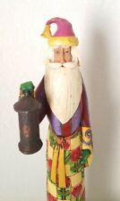 "EUC~Jim Shore Pencil Santa~Heartwood Creek ""The Heart is a Garden..."" Figurine"