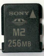 Sony 256MB M2 memory card.