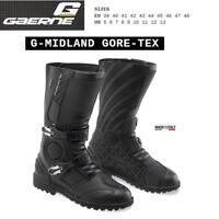 Stivali adventure touring moto GAERNE G-MIDLAND GORE-TEX black nero 2528001