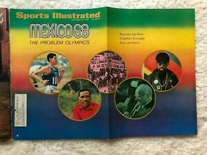 Sports Illustrated 1968 Mexico Olympics World Series Cards Tigers Gibson McLain