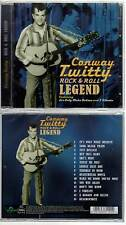 "CONWAY TWITTY ""Rock & Roll Legend"" (CD) 2012 NEUF"
