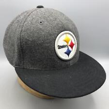 Pittsburgh Steelers Reebok Wool Baseball Hat Cap Size 7-3/8