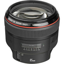 Canon EF 85mm f/1.2L II USM Telephoto AF Lens BRAND NEW FAST SHIPPING