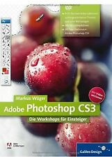 Adobe Photoshop CS3: Die Workshops für Einsteiger (Galil... | Buch | Zustand gut