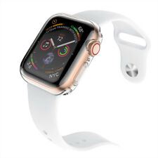 Apple Watch Series 1 2 3 4 5 6 Case TPU Screen Protector Thin 38 40 42 44mm