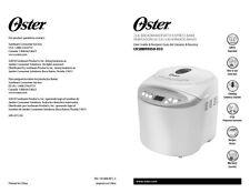 Sunbeam Cksbbr9050 Cksbbr9050-33 Bread Machine Owners Manual
