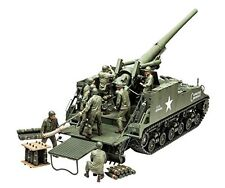 TAMIYA 1/35 U.S. Self-propelled 155mm Gun M40 Big Shot Model Kit NEW from Japan