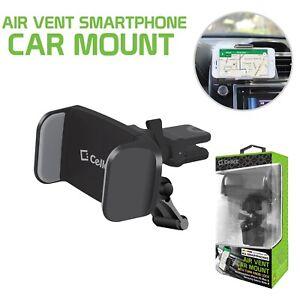 Premium Air Vent Smartphone Car Mount with 360 Degree Rotation & Tightening Knob