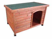 Dog Kennel - Large size Timber Kennel Flat Roof