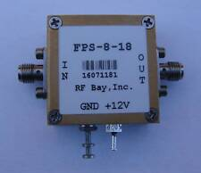 Frequency Divider 0.2-18GHz Div 8, FPS-8-18, New, SMA