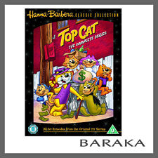 Top Cat Complete Series Volume 1 - 5 DVD Box Set Hanna Barbera Collection R4 New