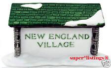 Dept. 56 New England Village Sign Retired 65706 New