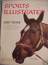 SILVER SPOON Sports Illustrated 4/27/59 Kentucky Derby