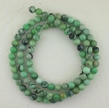 "4.5mm Round Natural Assorted Color Variscite Gemstone Gem Stone Beads 15"" Strand"